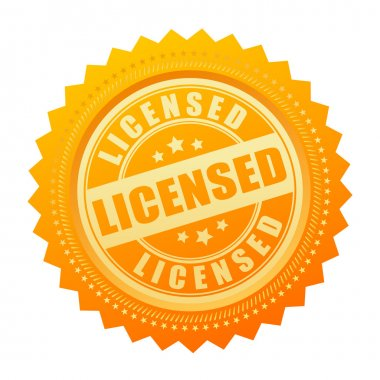Licensed gold seal certificate