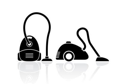 Vacuum cleaner icons