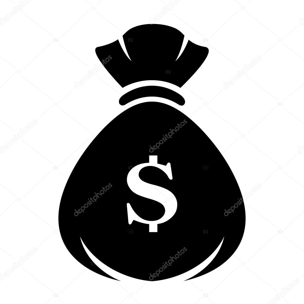 money bag vector icon stock vector arcady 117248824 rh depositphotos com dollar money bag vector money bag vector png