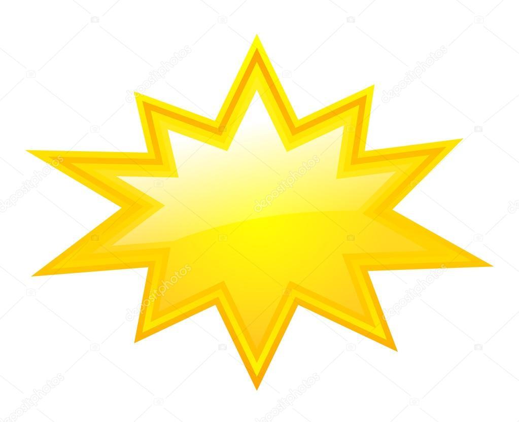 Amarillo estrella estalla vector de stock arcady - Figuras de lladro precios ...