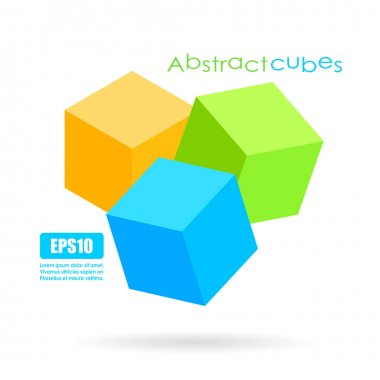 Abstract cube icon