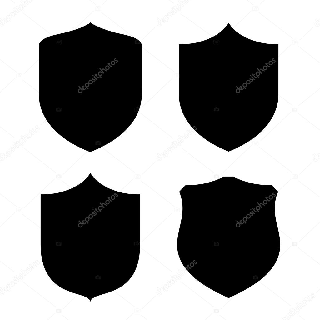 Shield Shape Stock Vector