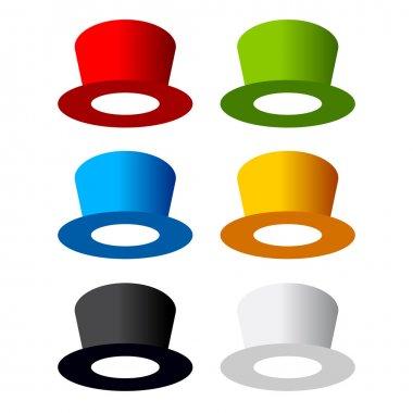 Six color hat