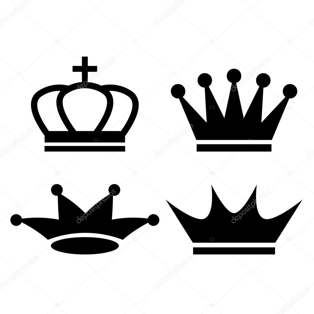 Icono De La Corona Del Rey Archivo Imágenes Vectoriales Arcady