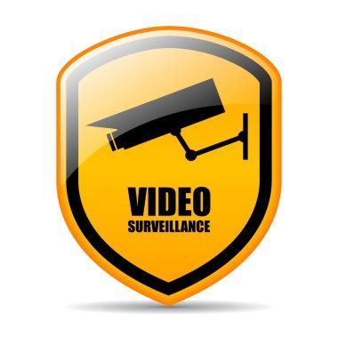 Video surveillance vector sign