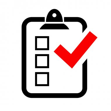 Test survey icon