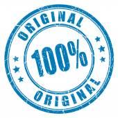 Fotografie 100 original vector stamp