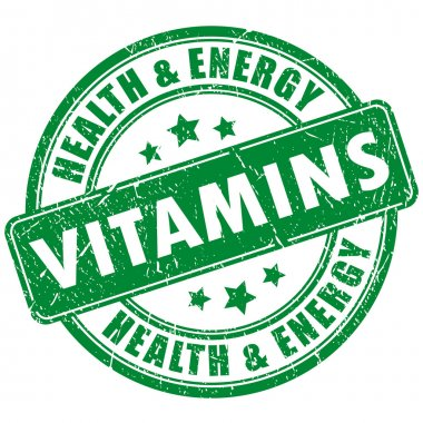 Vitamins stamp