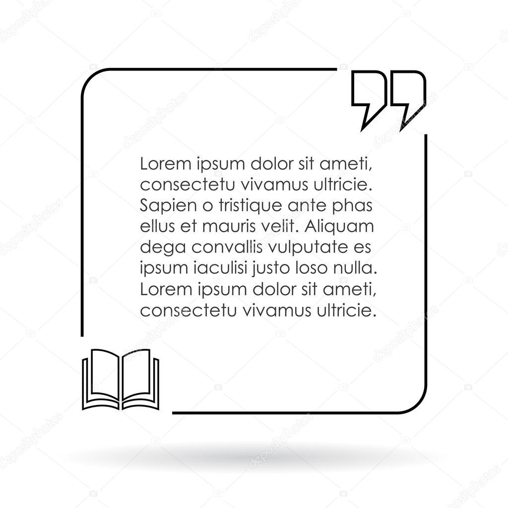 Quote box illustration