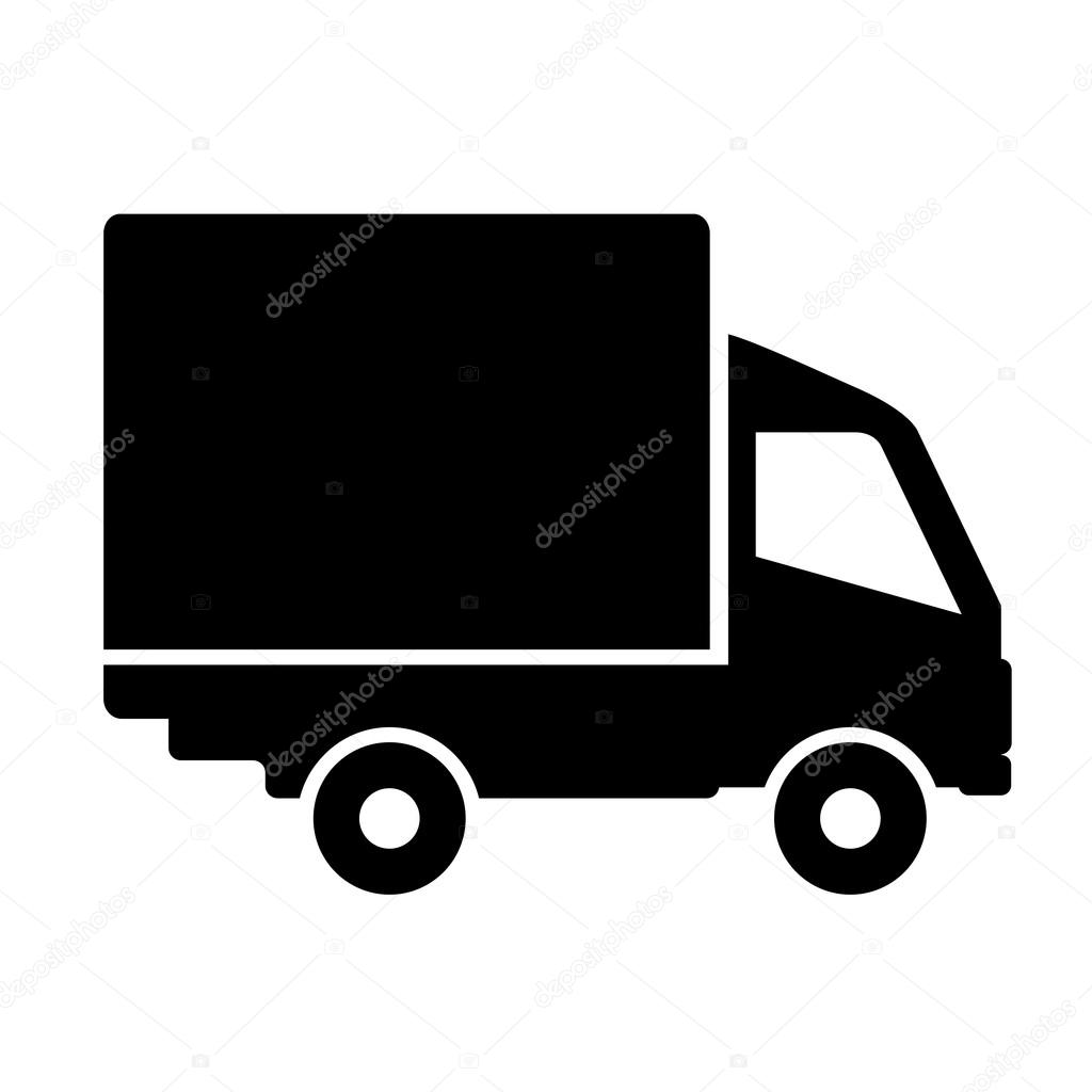 truck vector icon stock vector arcady 91154186