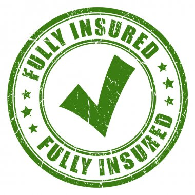 Fully insured rubber stamp