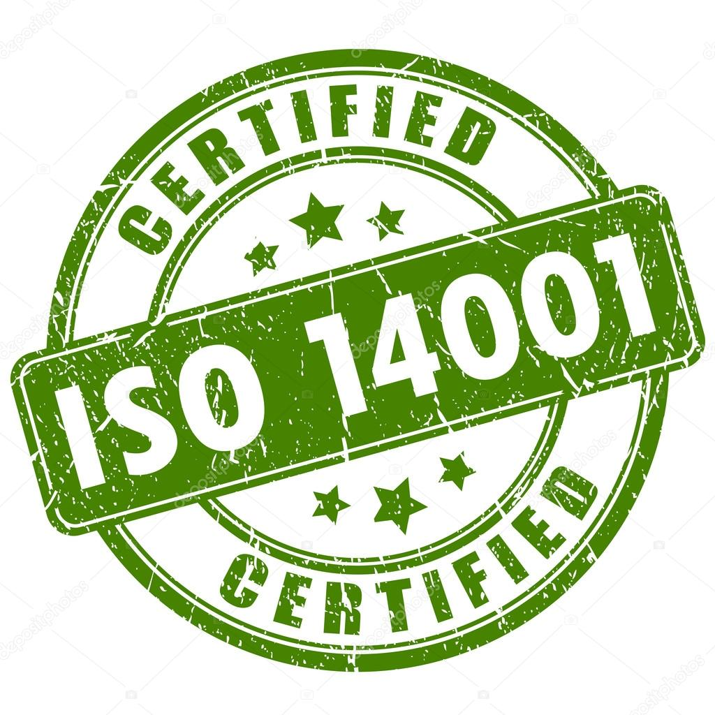 Timbre De Certification Iso 14001 Image Vectorielle Arcady 93699872