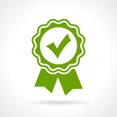 Approved certificate icon