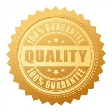 Quality guarantee certificate
