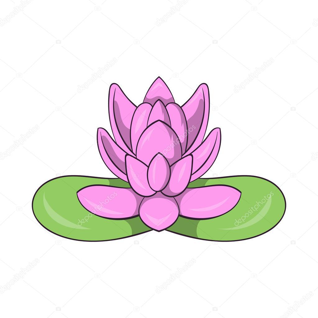 Pink lotus flower icon cartoon style stock vector ylivdesign pink lotus flower icon cartoon style stock vector mightylinksfo Choice Image