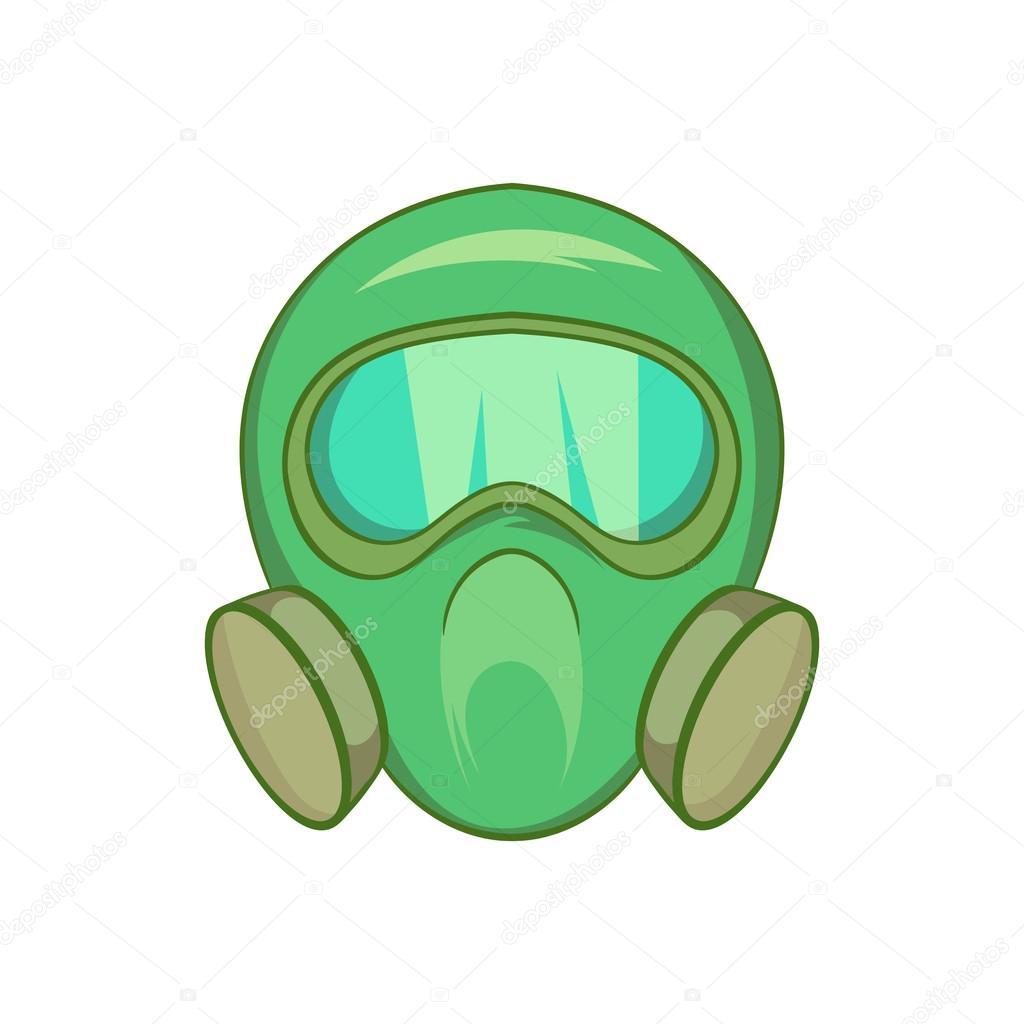 gas mask icon cartoon style stock vector ylivdesign 115133568 rh depositphotos com gas mask cartoon drawing gas mask cartoon drawing