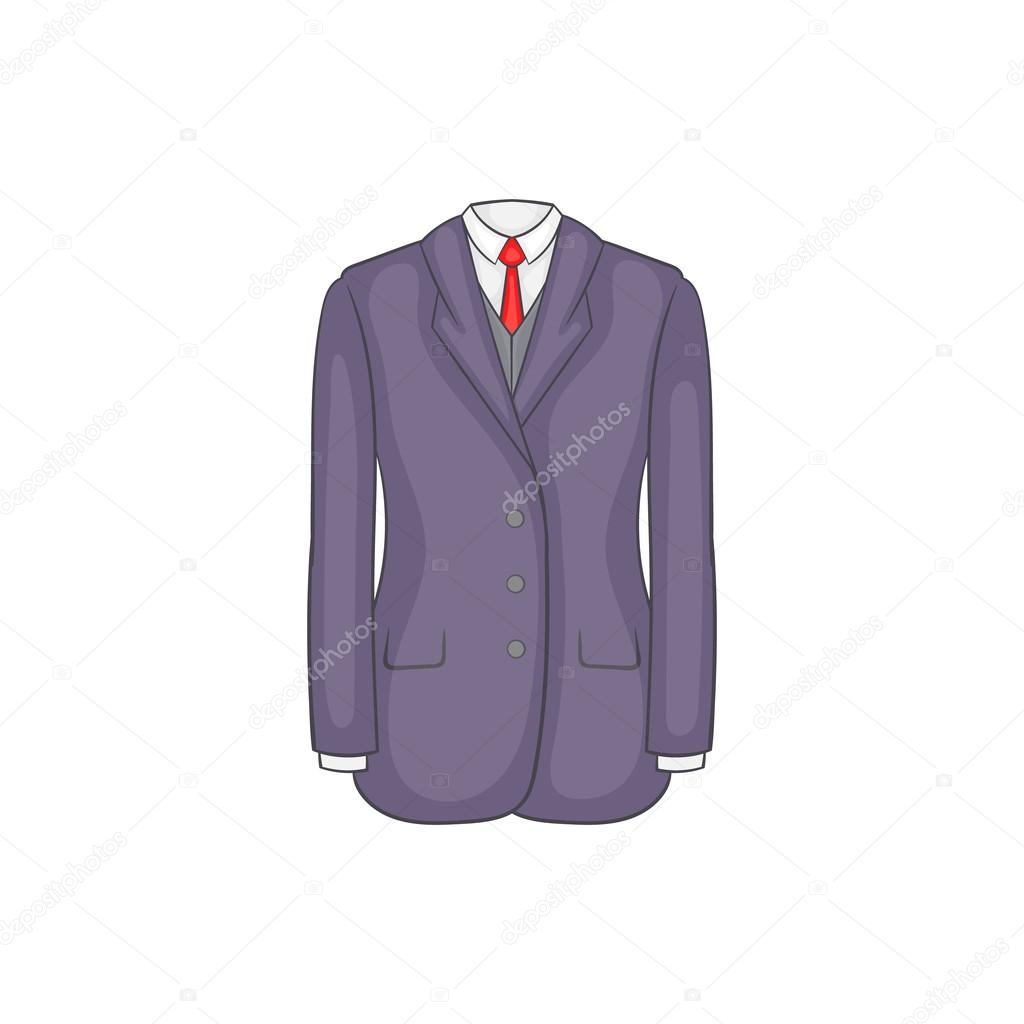Men suit icon cartoon style stock vector ylivdesign 117614804 men suit icon cartoon style stock vector publicscrutiny Gallery
