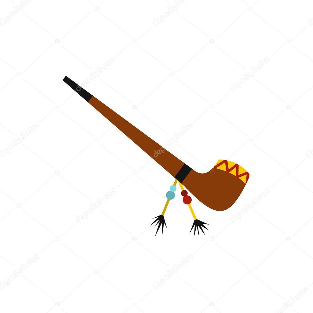 Indian smoking peace pipe 1