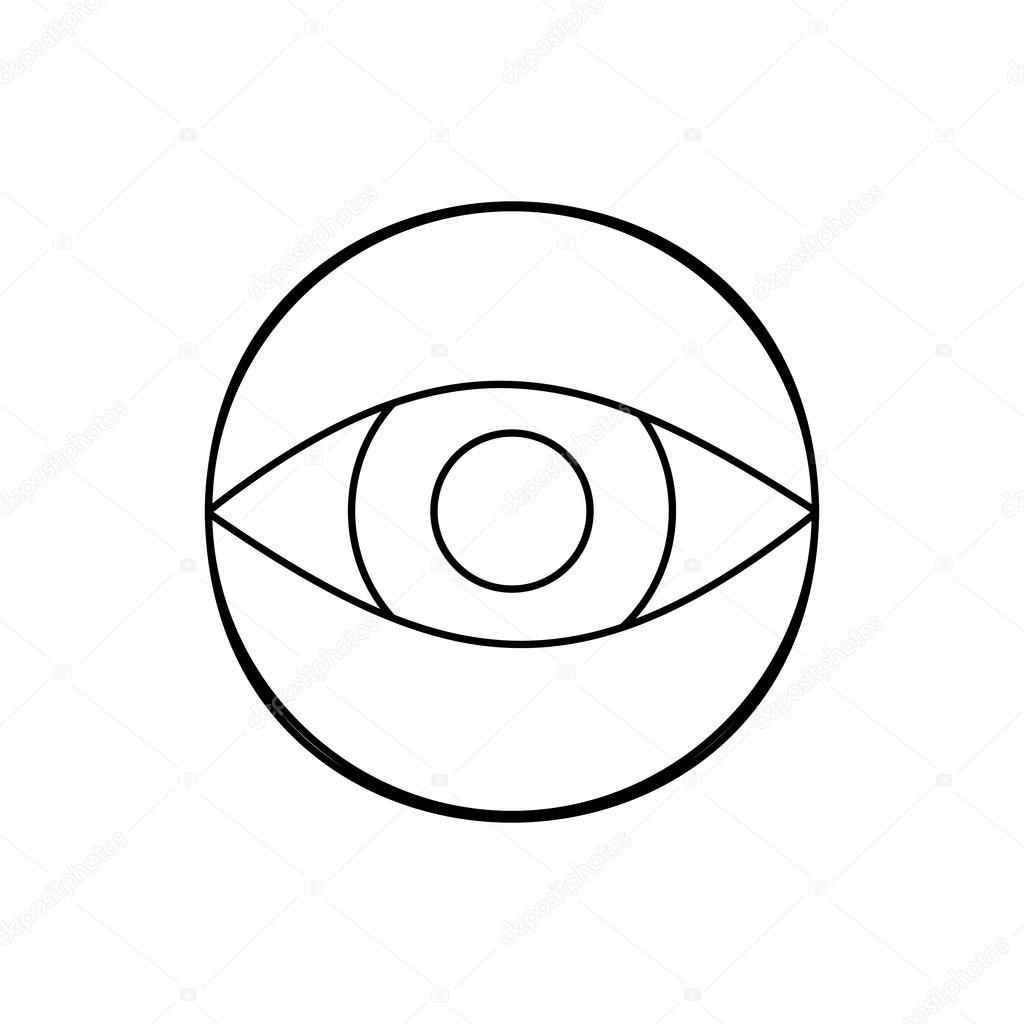 Значок скрытая видеокамера