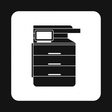 Multipurpose device, fax, copier and scanner icon