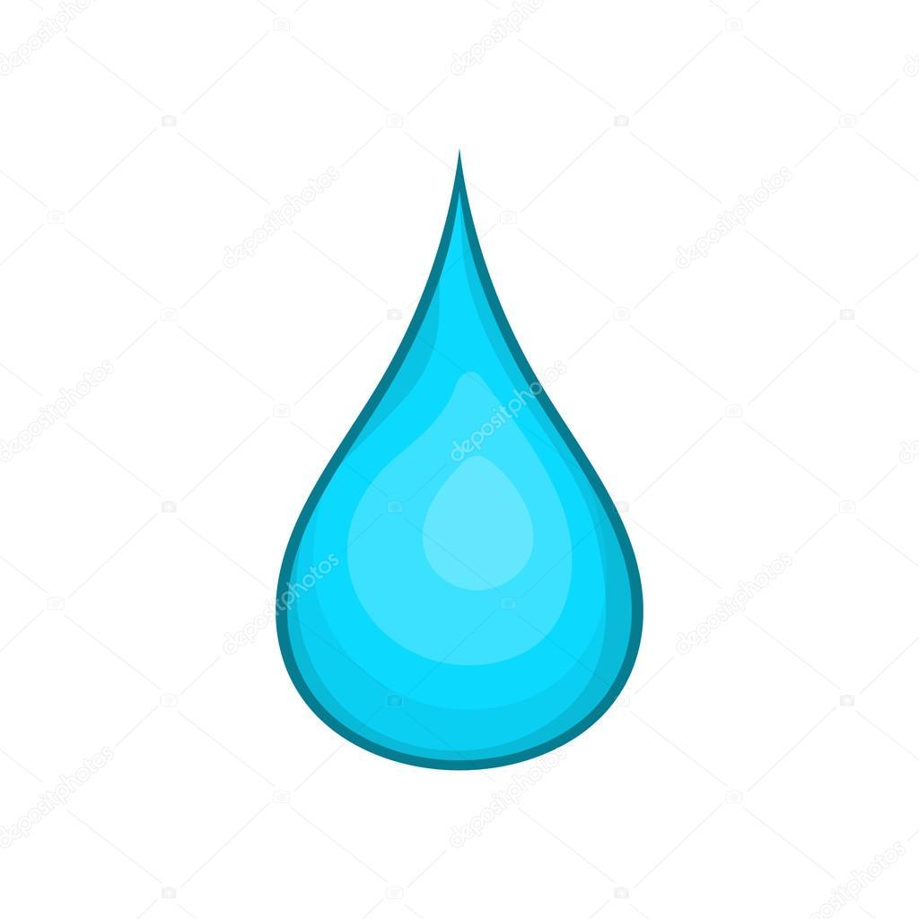 Imágenes Gotas Icono De Gota De Agua Estilo De Dibujos Animados