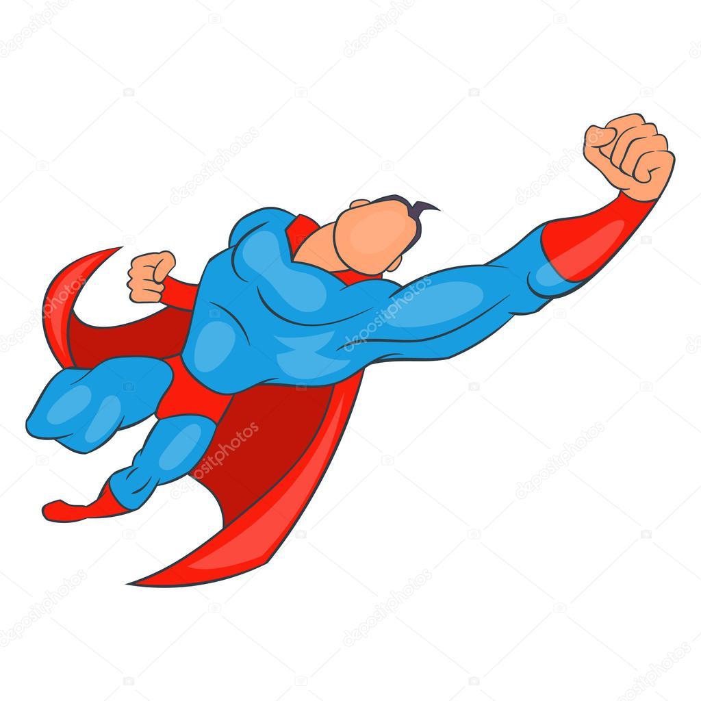 cartoon superhero flying cartoonankaperlacom