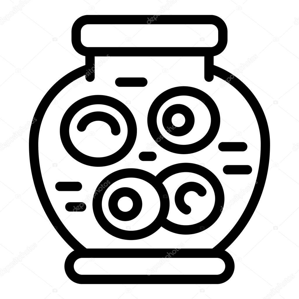 Supermarket pickles icon icon