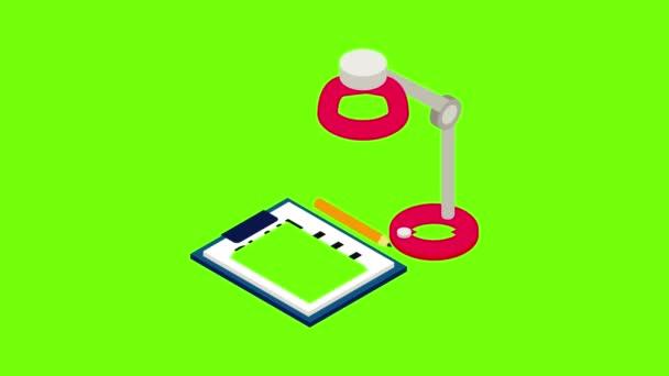 Planning icon animation