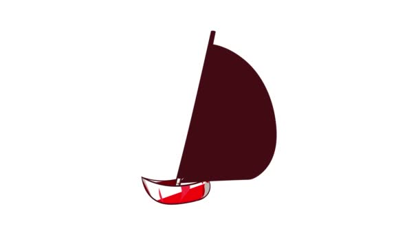 Yacht icon animation