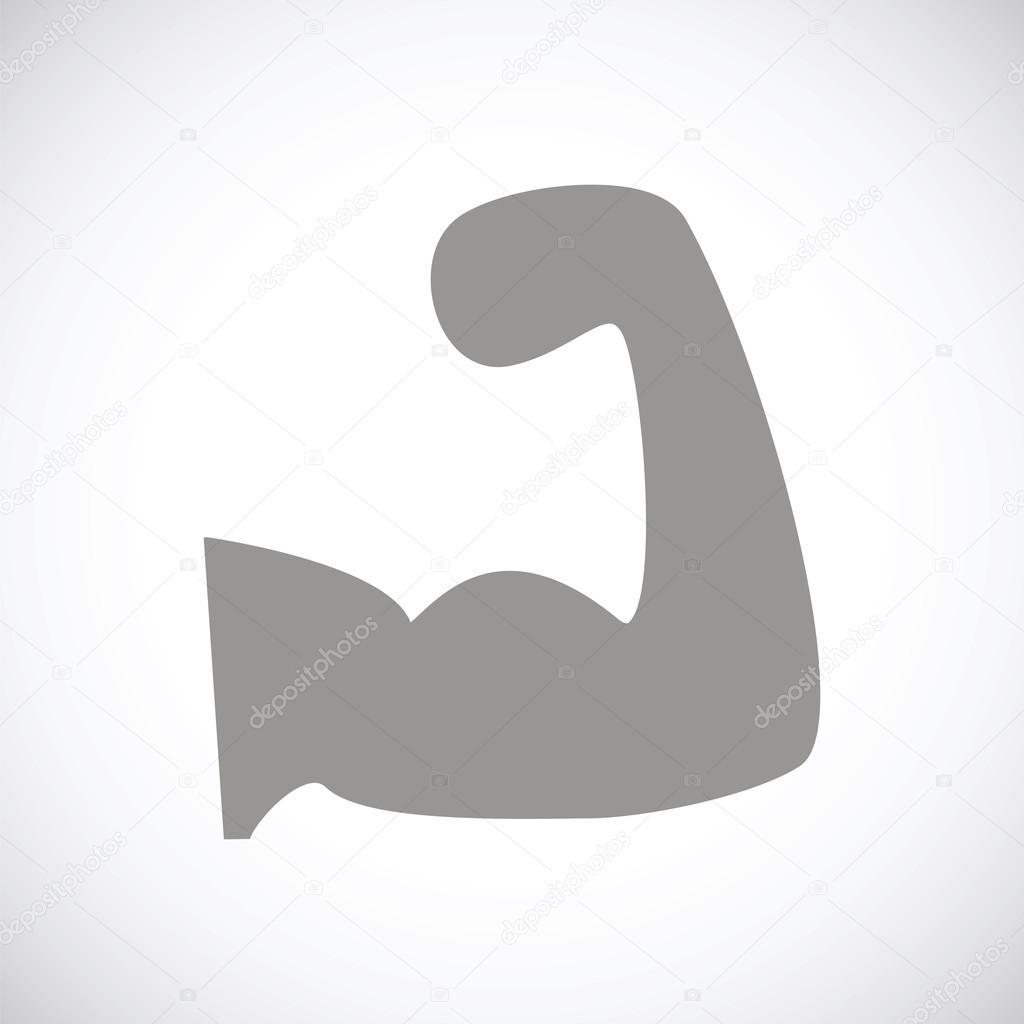Symbol Der Stärke Schwarz Stockvektor Ylivdesign 68344169