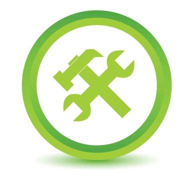 Green repair icon