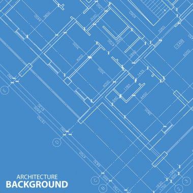 Blueprint best architecture background