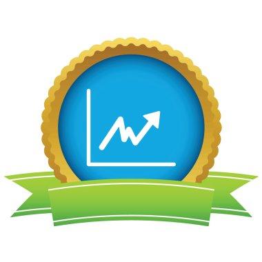 Gold unstable graph logo