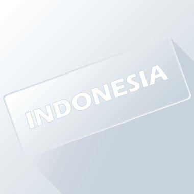 Indonesia unique button