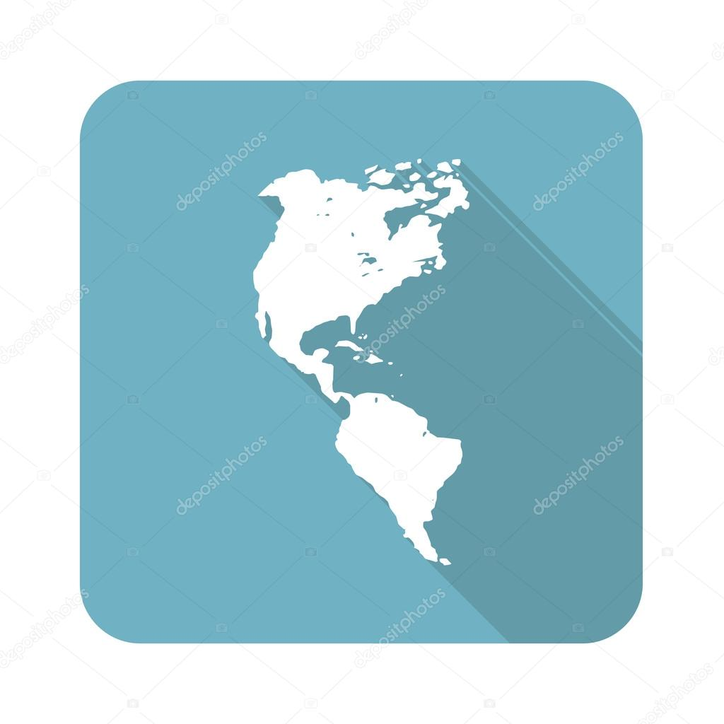 American continent icon Stock Vector ylivdesign 72392451