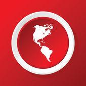 Na červenou ikonu kontinenty