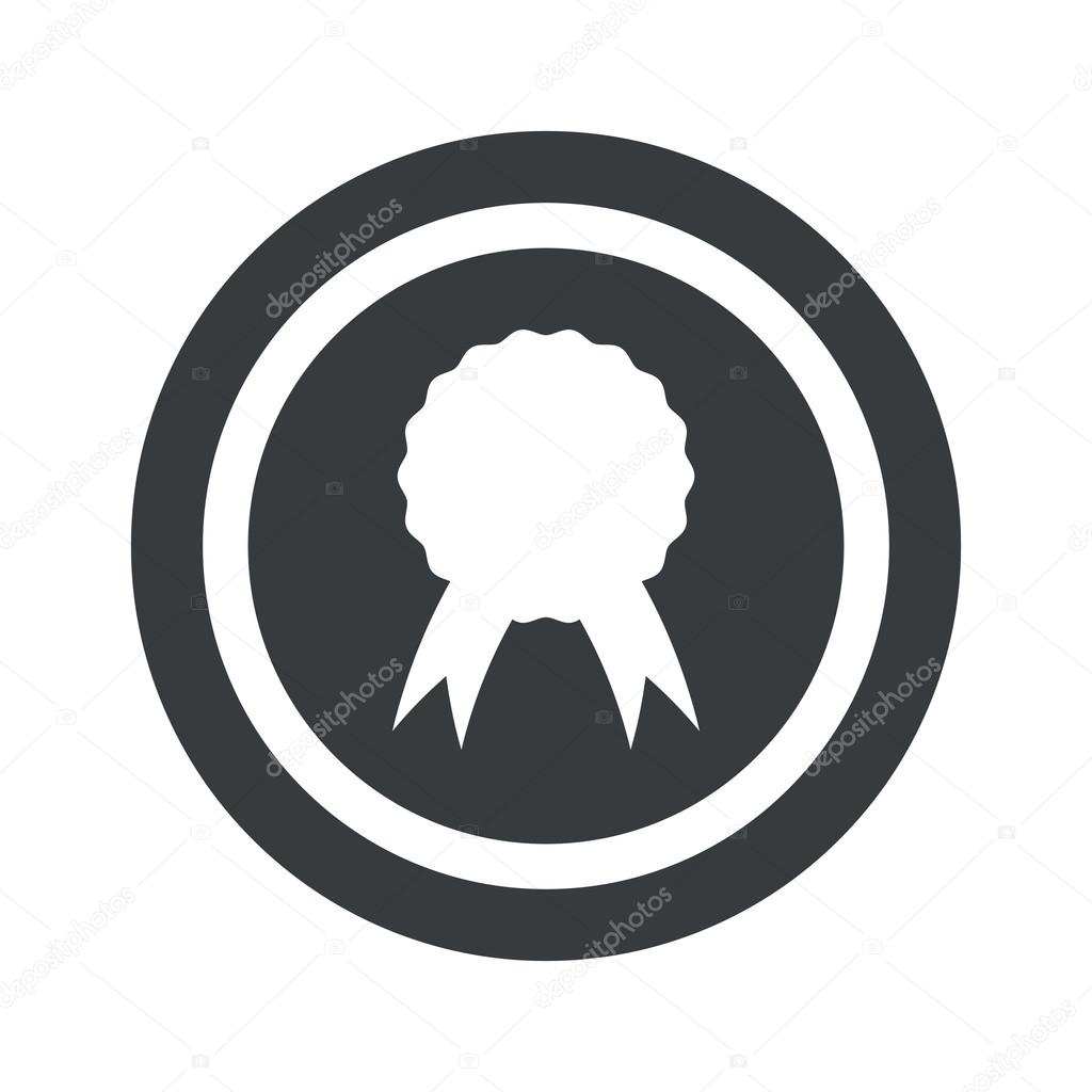 Round Black Certificate Seal Sign Stock Vector Ylivdesign 78106800
