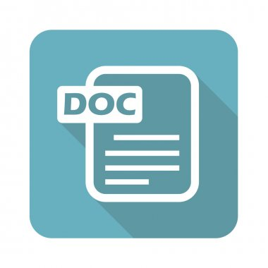 Square DOC file icon