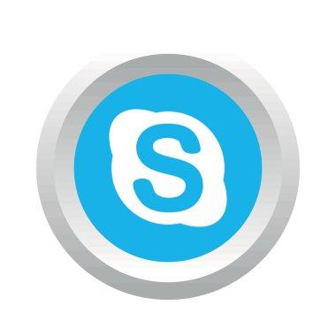 Skype social logo