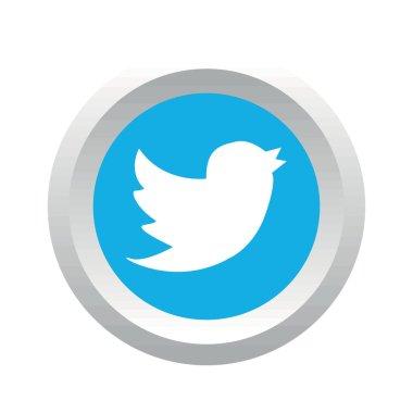 Twitter bird social logo