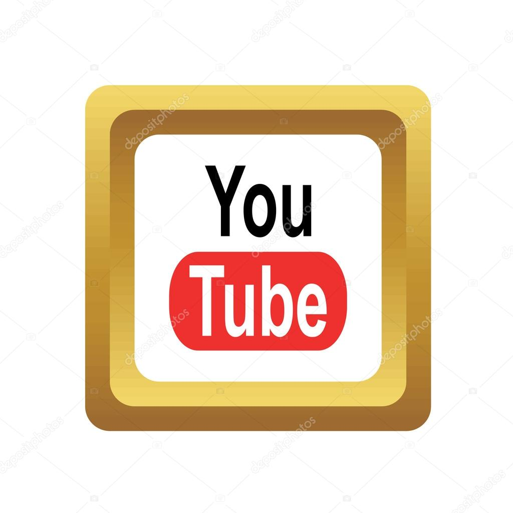YouTube sociala ikon — Stock Vektor © ylivdesign #80650772