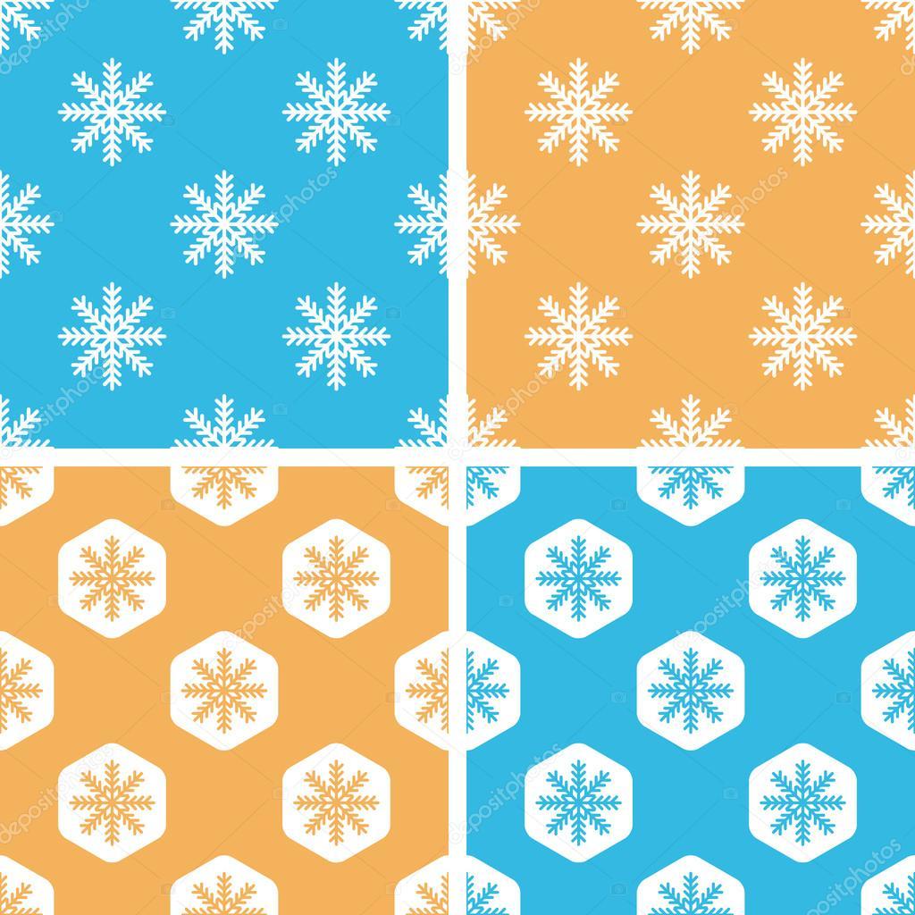 Schneeflocke-Häkelanleitung-Set, farbig — Stockvektor © ylivdesign ...