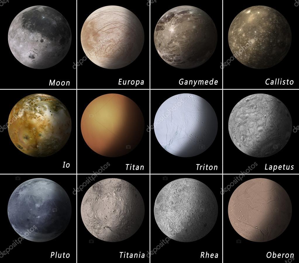 Solar System Satellites