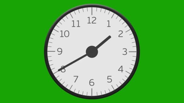 Dvanáct hodin času zanikla hodinový ciferník