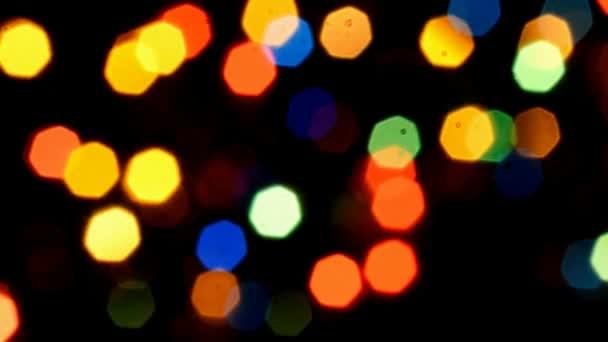 Barevné, rozmazané, bokeh osvětlení pozadí