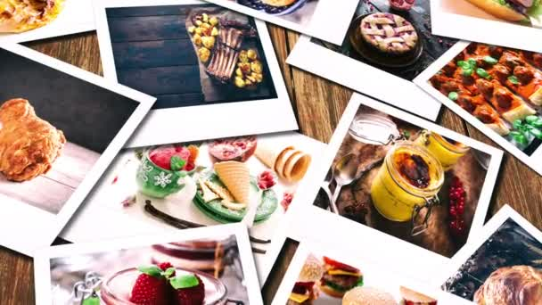 Video food collage