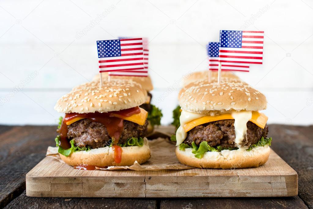 Resultado de imagen de Hamburguesa con queso:estados unidos