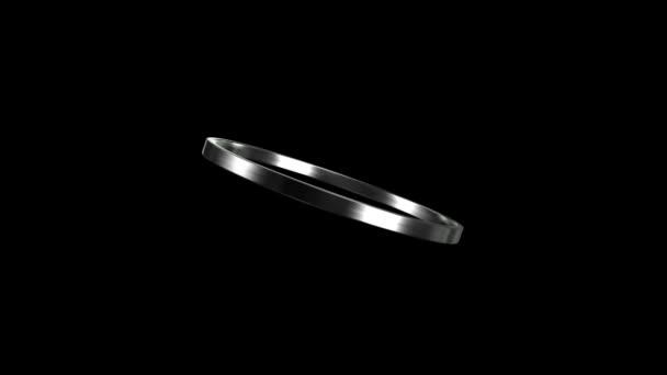 silver ring rotation HD