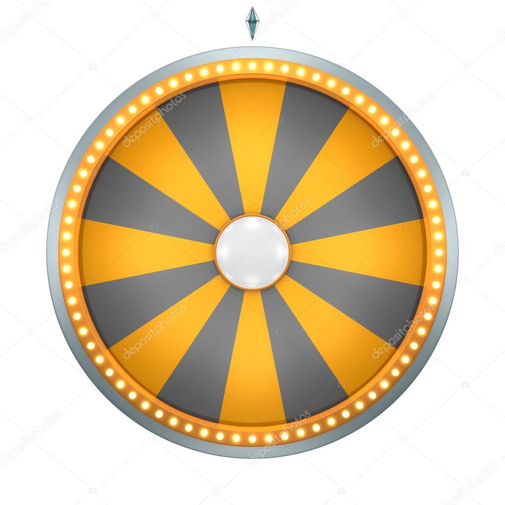 Wheel Fortune 16 Area Orange Stock Photo Realcg 103762942