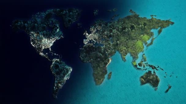 Nappali és éjszakai világ